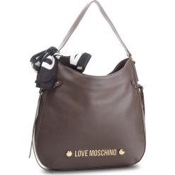 Torebka LOVE MOSCHINO - JC4311PP06KU0001 Taupe. Brązowe torebki klasyczne damskie Love Moschino, ze skóry ekologicznej. Za 879,00 zł.