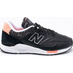 New Balance - Buty WL840WB. Czarne buty sportowe damskie New Balance, z gumy. W wyprzedaży za 299,90 zł.