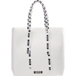 MSGM NASTRO LOGO Torba na zakupy white. Białe torebki klasyczne damskie MSGM. W wyprzedaży za 809,50 zł.