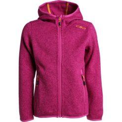 CMP GIRL JACKET FIX HOOD Kurtka z polaru borgogna/hot pink. Czerwone kurtki dziewczęce marki Reserved, z kapturem. Za 149,00 zł.