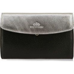 Torebka damska 85-4E-430-1S. Czarne torebki klasyczne damskie marki Wittchen, w paski, małe. Za 239,00 zł.