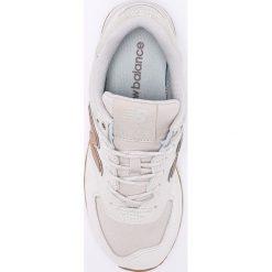 New Balance - Buty WL574CLS. Szare buty sportowe damskie New Balance, z gumy. W wyprzedaży za 299,90 zł.