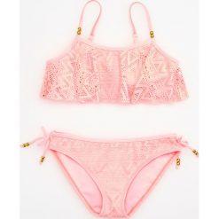 Stroje dwuczęściowe dziewczęce: Dwuczęściowy strój kąpielowy – Różowy