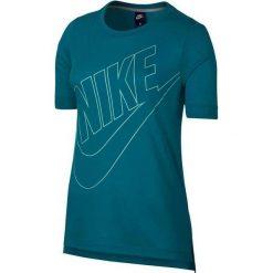 KOSZULKA W NSW TOP LOGO. Białe bluzki z odkrytymi ramionami Nike, z bawełny. Za 39,99 zł.