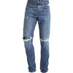 Rag & bone Jeansy Slim Fit saranac. Niebieskie rurki męskie rag & bone. W wyprzedaży za 548,55 zł.