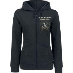 Bluzy rozpinane damskie: Saltatio Mortis Anchor Skull Bluza z kapturem rozpinana damska czarny