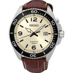 Zegarki męskie: Zegarek męski Seiko Kinetic SKA749P1