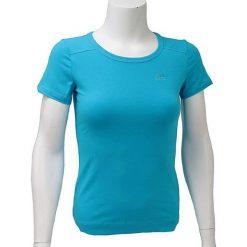 T-shirty damskie: Adidas Koszulka damska Ess Tee niebieska r. 34