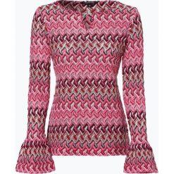 Swetry klasyczne damskie: Comma – Sweter damski, różowy