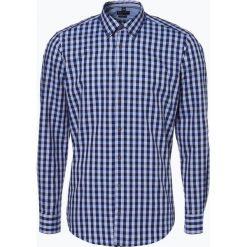 Nils Sundström - Koszula męska, niebieski. Czarne koszule męskie marki TOM TAILOR DENIM, l, z bawełny, button down, z długim rękawem. Za 89,95 zł.