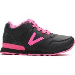 Czarne Buty Sportowe Peppy. Czarne buty sportowe dziewczęce Born2be, z materiału, z okrągłym noskiem, na zamek. Za 44,99 zł.