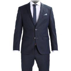 Bugatti Garnitur navy. Niebieskie garnitury Bugatti, z materiału. W wyprzedaży za 1077,30 zł.