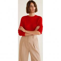 Mango - Sweter Londrina. Różowe swetry klasyczne damskie Mango, l, z dzianiny, z okrągłym kołnierzem. Za 119,90 zł.