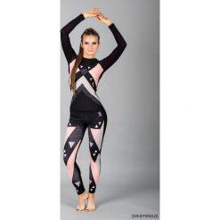 Bluzka SUPER SAMBA - długa. Szare bluzki damskie Pakamera, sportowe, z włoskim kołnierzykiem, z długim rękawem. Za 149,00 zł.