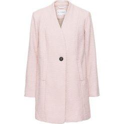 Płaszcz boucle bonprix dymny różowy. Czerwone płaszcze damskie pastelowe bonprix. Za 124,99 zł.