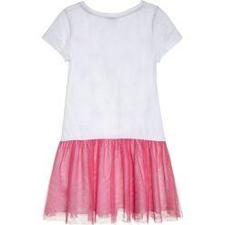 Sukienki dziewczęce: happy girls HERZCHEN  Sukienka z dżerseju pink