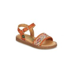 Sandały Dziecko  El Naturalista  AFRICA. Brązowe sandały dziewczęce marki El Naturalista. Za 231,20 zł.