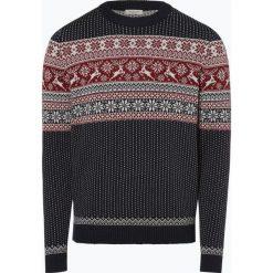 Selected - Sweter męski – Deer, niebieski. Niebieskie swetry klasyczne męskie Selected, m, z dzianiny. Za 229,95 zł.
