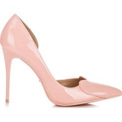 Szpilki: Różowe szpilki sweetheart APHRA
