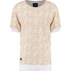 T-shirty męskie z nadrukiem: Cayler & Sons DEUCES LONG LAYER Tshirt z nadrukiem sand