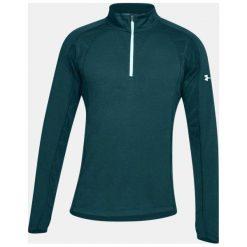 Bluzy męskie: Under Armour Bluza męska THREADBORNE SWFT 1/4 ZIP zielona r. XL (1305207-716)