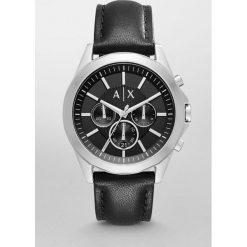 Armani Exchange - Zegarek AX2604. Czarne zegarki męskie marki Armani Exchange, l, z materiału, z kapturem. Za 849,90 zł.