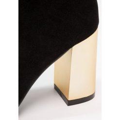 Botki damskie lity: Public Desire ORLA Botki na obcasie black/gold