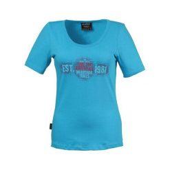 Bluzki damskie: KILLTEC Koszulka damska Navaeh niebieska r. 44  (2443444)