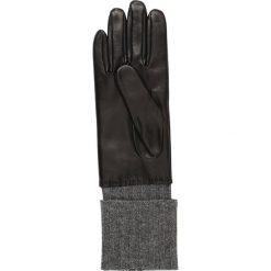 Roeckl HERITAGE Rękawiczki pięciopalcowe black/grey. Czarne rękawiczki damskie Roeckl, z materiału. Za 499,00 zł.