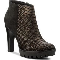 Botki SERGIO BARDI - Capannori FW127261317RB 663. Czarne buty zimowe damskie Sergio Bardi, z nubiku. W wyprzedaży za 249,00 zł.
