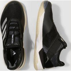 Adidas Performance ADIZERO UBERSONIC 3 W CLAY Obuwie do tenisa Outdoor black/white. Brązowe buty sportowe damskie marki adidas Performance, z gumy. W wyprzedaży za 389,35 zł.