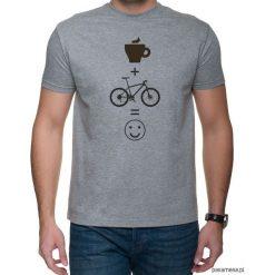 Koszulka T-SHIRT kawa mtb. Czarne t-shirty męskie z nadrukiem marki Pakamera, m, z kapturem. Za 75,00 zł.