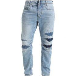 GStar DSTAQ 3D TAPERED 3DR Jeansy Zwężane light aged restored. Niebieskie jeansy męskie G-Star. W wyprzedaży za 503,40 zł.