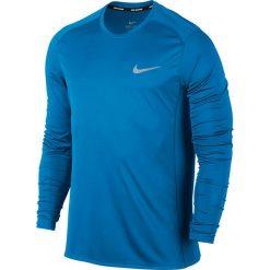 Koszulka do biegania męska NIKE DRY MILER RUNNING TOP LONG SLEEVE / 833593-482 - MILER RUNNING TOP LONG SLEEVE. Szare koszulki sportowe męskie Nike, m. Za 111,00 zł.