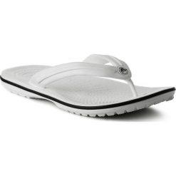 Japonki CROCS - Crocband Flip 11033 White. Białe klapki damskie Crocs, z materiału. Za 119,00 zł.