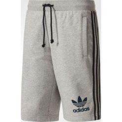 Adidas Spodenki męskie  3STRIPED FT SHORTS szare r. L  (BR6976). Białe spodenki sportowe męskie marki Adidas, m. Za 176,03 zł.