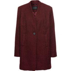 Płaszcze damskie: Płaszcz boucle bonprix czerwony klonowy