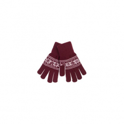 Rękawiczki damskie we wzory. Brązowe rękawiczki damskie marki Roeckl. Za 7,99 zł.