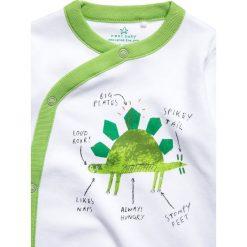Next DINOSAUR SLEEPSUITS BABY 3 PACK  Piżama green/white. Zielone bielizna chłopięca Next, z bawełny. Za 149,00 zł.