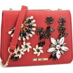 Torebka LOVE MOSCHINO - JC4305PP06KT0500 Rosso. Czerwone torebki klasyczne damskie marki Love Moschino, ze skóry ekologicznej. Za 719,00 zł.