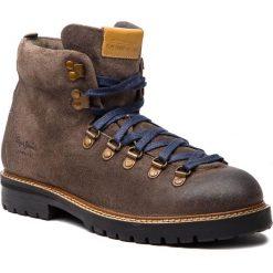 Kozaki PEPE JEANS - Sherpa Boot Sde PMS50166 Stag 884. Brązowe botki męskie Pepe Jeans, z jeansu. Za 529,00 zł.