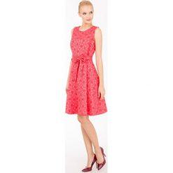 Odzież damska: Letnia sukienka w kwiaty