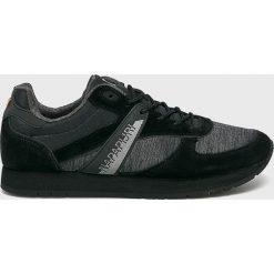 Napapijri - Buty. Czarne buty sportowe damskie Napapijri, z gumy. Za 399,90 zł.