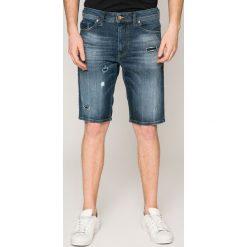 Diesel - Szorty. Szare spodenki jeansowe męskie Diesel, casualowe. W wyprzedaży za 359,90 zł.
