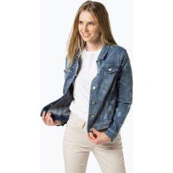 Bomberki damskie: Gerry Weber - Damska kurtka jeansowa, niebieski