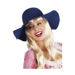 Kapelusz damski niebieski. Niebieskie kapelusze damskie marki ASTER. Za 39,97 zł.