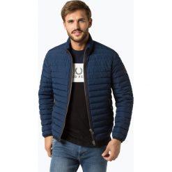 Marc O'Polo - Męska kurtka pikowana, niebieski. Niebieskie kurtki męskie pikowane marki Marc O'Polo, m, z puchu, eleganckie. Za 749,95 zł.