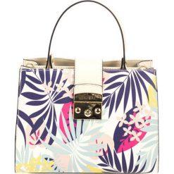 Torebki klasyczne damskie: Skórzana torebka w kolorze beżowym – (S)26 x (W)32 x (G)13 cm