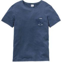 T-shirty męskie z nadrukiem: T-shirt w optyce 2 w 1 Regular Fit bonprix indygo