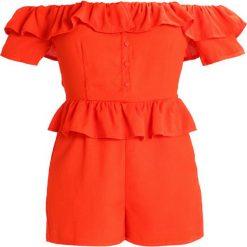 Kombinezony damskie: Fashion Union Petite Kombinezon orange